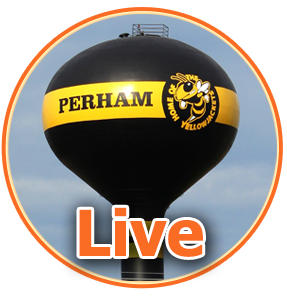 Live - photo of Perham water tower