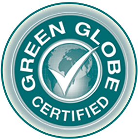 We are Green Globe Certified