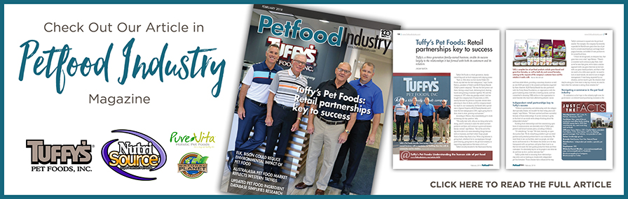 Check out our article in Pet Food Industry magazine!